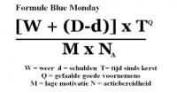 formule blue monday